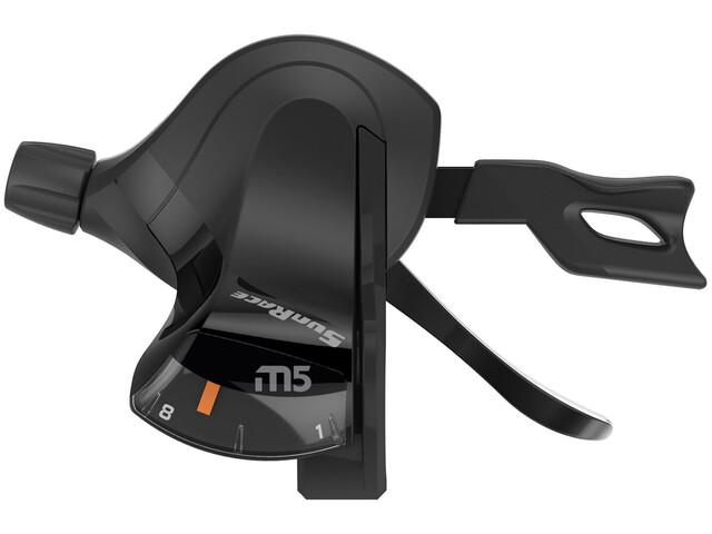 SunRace DLM500 Gearhåndtag 7-gear højre sort (2019) | Gear levers